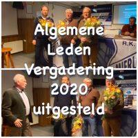 Algemene Leden Vergadering 2020 uitgesteld