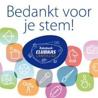 Rabobank clubkas-campagne BEDANKT!!!!