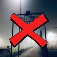 Sportpark écht op slot t/m maandag 6 april!